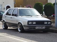1989 Volkswagen Golf 1.8 GL Auto (Neil's classics) Tags: vehicle 1989 volkswagen golf 18gl vw car