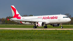 Airbus A320-214 CN-NMF Air Arabia Maroc (William Musculus) Tags: plane spotting airport airplane william musculus aviation cnnmf air arabia maroc airbus a320214 strasbourg entzheim lfst sxb g9 aby 3o mac a320200