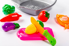 Baby toys vegetables on white background (wuestenigel) Tags: vegetable tray color kid fish table knife eggplant play corn kitchen vegetables background plastic fryingpan food green fruit object strawberry toy yellow baby white noperson keineperson health gesundheit farbe lebensmittel desktop medicine medizin closeup nahansicht kunststoff bright hell healthy gesund treatment behandlung isolated isoliert nutrition ernährung healthcare gesundheitswesen pill pille cooking kochen delicious köstlich disjunct disjunkt kind nett candy süsigkeiten