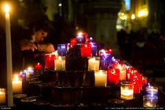 Candles (Ludtz) Tags: ludtz leica leitz m leicamtyp240 m240 summicronc40|2 summicron wetzlar lyon 69 lumières lights lumière eglise church basiliquedefourvière lumignons candles bougies rhônealpes alpes alps rhône télémètre télémétrique rangefinder reddot pointrouge