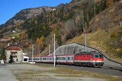 1144 274, IC 592 ( Salzburg -> Klagenfurt ). Kolbnitz (M. Kolenig) Tags: 1144 intercity tauernbahn bahnhof baum wald kolbnitz