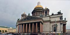 RUSSIE -Saint Petersbourg - la cathédrale Saint Isaac (AlCapitol) Tags: russie nikon d800 saintpetersbourg église church cathédralesaintisaac façade colonade