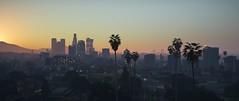 Hazy Sunshine | GTAV (Razed-) Tags: los angeles city skyline smog sunrise grand theft auto v gtav rockstar games naturalvision remastered graphics mod