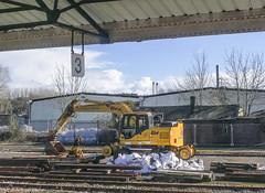 Rail/road Track Maintenance Equipment, Yeovil Pen Mill (Rabbi WP Thinrod) Tags: westbury crewkerne yeoviljunction yeovilpenmill diversion 59002 59204 66040 66103 66143 alanjday salisbury waterloo 802006 22o91502006 150249 weymouth portsmouthharbour newport 1c84 1l29 5m11 166205 1o95 43156 1a83 dartmouthinternationalsummerschool 1l25 158959 159011 1v00 1l48