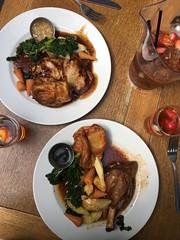 Sunday Roast & Pims @ Oxford (gracelee97) Tags: england unitedkingdom food sundayroast tavern bar oxford travel