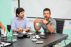 Caio recebe Deputado André do Prado (Prefeitura do Município de Bertioga) Tags: caio recebe deputado andré do prado gabinete taciano vereador