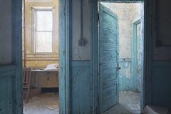 Lyman (Sean M Richardson) Tags: abandoned school decay details texture color canon photography explore light shadows vibrant