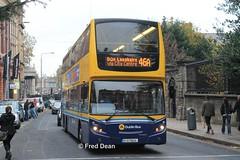 Dublin Bus VT24 (07D70024). (Fred Dean Jnr) Tags: dublinbus dbrook volvo b9tl alexander dennis enviro500 vt24 07d70024 graftonstreetdublin november2013 busathacliath dublinbusyellowbluelivery dublinbusroute46a triaxle