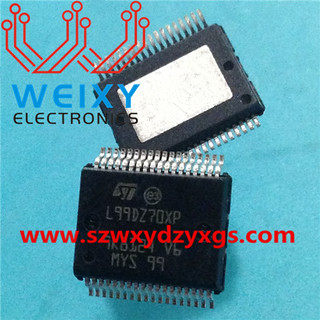 L99DZ70XP commonly used vulnerable chip for automotive BCM