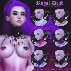 THIS IS WRONG Royal dead GACHA - exclusive for Suicide Dollz (THIS IS WRONG owner) Tags: exclusive gacha suicidedollz goth dark horror