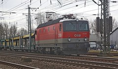 öBB 1144-264 in Leer  08-03-2019 (roestkrabber_hz) Tags: öbb 1144 1144264 zug train trein spoor schienen rails railroad lokomotive lok