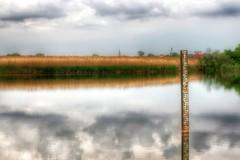 Lonely Lake (superhic) Tags: landscape lake nature sky water jezero wild wilderness calm relax bulrush trska