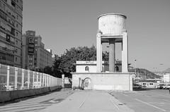 Water tower (AstridWestvang) Tags: abandoned harbour industry malaga spain watertower