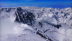 Clouds and fog in the snow-capped mountains (Jacques Rollet (Little Available)) Tags: mountain montagne winter hiver snow neige cloud nuage fog brouillard