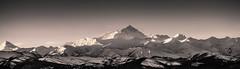 Roof of the World (yecatsiswhere) Tags: tibet nepal himalayas himalaya mountains range everest trek northface land qomolangma pan panorama