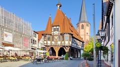 Rathaus in Michelstadt 19.9.2018 3985 (orangevolvobusdriver4u) Tags: 2018 archiv2018 deutschland germany hessen michelstadt rathaus fachwerkhaus fachwerk truss halftimbered road strasse