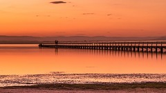 Long Jetty1 (One_eye2011) Tags: longjetty sunset laketuggerah goldenlight mountain