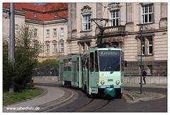Tram Frankfurt (O) - 2019-03 (olherfoto) Tags: bahn tram tramcar tramway strasenbahn villamos tatra kt4d frankfurtoder