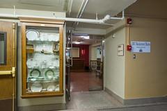 2019 - January - AESHM - New Tearoom Entrance.jpg (ISU College of Human Sciences) Tags: glass hall doors mackay room tearoom joanbiceunderwoodtearoom tea aeshm entrance new