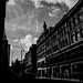 City Street & Sky