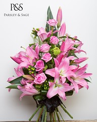 Our ultimate girly Valentine's Day bouquet! Pink oriental lilies with gorgeous pink roses! Click the  link in our bio to order yours today 💞💞💞 . . #parsleyandsageflorist #stokeontrent #pinkroses #romance (parsleyandsage11) Tags: romance valentinesday2019 flowerstagram pinkroses valentinesdaygifts floralfix pinklilies lilybouquet floraldesigne valentinesdaygift flowersofinstagram flowerbeauties valentinesdayflowers parsleyandsageflorist rosebouquets valentines valentinesday stokeontrent roses