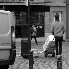 Unload (Spotmatix) Tags: 50mm 50mmf14 a37 belgium brussels camera effects lens minolta monochrome places primes sony street streetphotography
