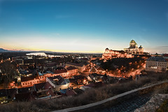 LRM_EXPORT_616084575727312_20190214_213857840 (Ferenc Ipolyi) Tags: esztergom bazilika nikon d7500 samyang fisheye 8mm night bluehour church city hungary