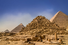 Pyramids of Giza, Egypt (pas le matin) Tags: pyramid pyramide travel voyage world egypt égypte afrique africa giza gizeh cairo lecaire ancient antique antiquité antiquity architecture greatpyramidofgiza grandepyramidedegizeh pyramidedegizeh pyramidofgiza monument desert ruins ruines sand sable canon 7d canon7d canoneos7d eos7d