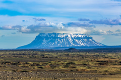 Herdubreid (Einar Schioth) Tags: herdubreid herðubreið mtherdubreid sky summer sunshine day canon clouds cloud vividstriking blusky nationalgeographic ngc nature mountain landscape photo picture outdoor iceland ísland einarschioth