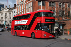 Route 9, London United, LT162, LTZ1162 (Jack Marian) Tags: route9 londonunited lt162 ltz1162 newbusforlondon nb4l newroutemaster hammersmith hammersmithbusstation aldwych buses bus london