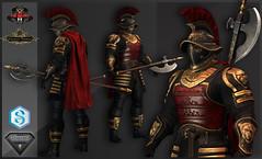 TSC-Battle Legionnaire (Topa Adamski) Tags: aesthetic signature zbrush medieval fantasy armor knight legionnaire secondlife tsc