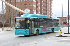 Arriva Merseyside 5013 (OW17 WNE) (SelmerOrSelnec) Tags: man 18270 caetano arrivamerseyside ow17wne liverpool gaspowered bus