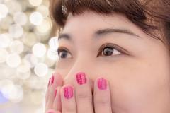 Shining eyes (mikemikecat) Tags: é»è² shining eyes reflection macro travel photography japan nagashima resort mie prefecture なばなの里 名花之里 begonia garden nagoya mikemikecat portrait happyplanet asiafavorites