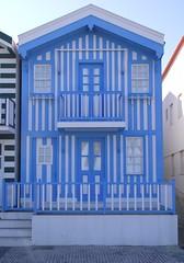 Aveiro costa nova front house and windows balcony (patrick555666751 THANKS FOR 6 000 000 VIEWS) Tags: aveiro costa nova front house windows balcony balcon balkon facade fachada patrick55566675 fenster fenetre finestre ventana janela window bleu bla blue blau azul azzuro portugal europe europa atlantic atlantique atlantico