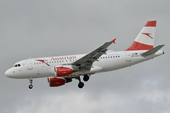 OE-LDA (LIAM J McMANUS - Manchester Airport Photostream) Tags: oelda austrianairlines austrian aua os sofia austriancom servus airbus a319 319 airbusa319 manchester man egcc
