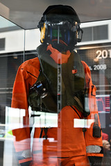 Search and Rescue Winchman Clothing (Bri_J) Tags: rafmuseum hendon london uk museum airmuseum aviationmuseum nikon d7500 searchandrescue winchman clothing raf orange dayglo