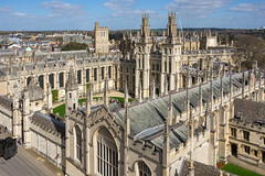 All Souls College, Oxford (Ken Barley) Tags: oxford stmaryschurch towerview