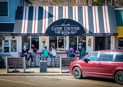 Cayucos Candy& Ice Cream Store (CDay DaytimeStudios w /1 Million views) Tags: beach ca california candystore cayucos coastline highway1 icecream ocean pacificcoast pacificcoasthighway pacificocean people streetsceen water