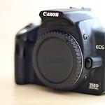 My old camera: canon eos 350d digital thumbnail