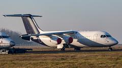 IMG_3257 (Al Henderson) Tags: 146 aviation avro bae bedfordshire cranfield e3324 egtc gckty oodwd planes qinetiq rj rj100 spares stored