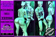 [TD] Wild Flower Ink [TATTOO] UniSex (.☣.†ᴏxɪᴄÐᴏɪɪs.☣.) Tags: wild flower ink toxicdolls toxic sl secondlife omega unisex tatt tattoo cosmetic salon beauty red black fresh faded male female