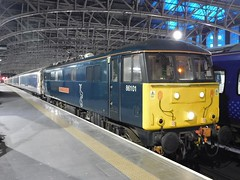 Caledonian 86101 Sir William Stanier F.R.S, Glasgow Central (22/02/2019) (2) (David Hennessey) Tags: class 86 electric locomotive 86101 sir william stanier frs caledonian sleeper glasgow central