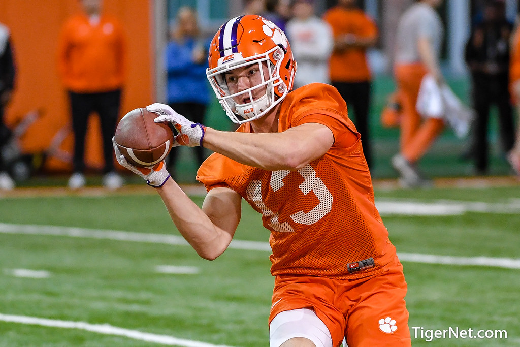 Clemson Photos: Brannon  Spector, 2019, Football