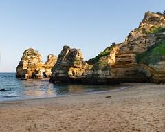 Beauty of the Algarve 1 (Gene Mordaunt) Tags: portugalalgave lagos beach water praiadocamilo sand cliff ocean landscape rocks nikon810
