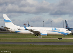 Enter Air 737-800 SP-ESD (birrlad) Tags: dublin dub international airport ireland aircraft aviation airplane airplanes airline airliner airlines airways rugby charter flight french enterair boeing b737 b738 737800 7378as spesd