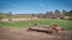 Agricultural decor (Wicked Dark Photography) Tags: california abandoned decay derelict farmequipment rust rusty travel vacation