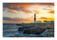 Portland Sunset (Rich Walker Photography) Tags: portland dorset sunset sunsets ocean sea water coast coastline coastal lighthouse lighthouses landscape landscapes landscapephotography landmark landmarks canon england efs1585mmisusm eos eos80d seascape cloud clouds
