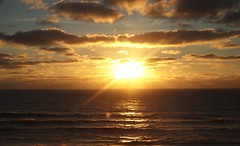 I think , it was my first sunsetpic ! :-) (evablanchardcouet) Tags: sunset coucherdesoleil sky ciel ocean mer sea capferret france natur groupenuagesetciel