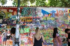 John Lennon's Wall (olgatticus) Tags: prague city czech republic summer trip holiday citylife peace music 2018 canon eos war wall john lennon beatles imagine