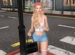 Retail Therapy (EnviouSLAY) Tags: colivatiboutique colivatibeauty colivati beauty boutique cynful blueberry mug doux letre izzies socks shorts denim top tank hair longhair long blonde hairband makeup eyeliner lipstick lipgloss gloss pink white redbull energydrink energy drink bento belleza freya genus classic shopping retail shoppingscene scene secondlifefashion secondlifephotography newreleases new releases equal10 belleevents belle events monthlyfashion monthlyfair monthlyevent monthly fashion fair event pale female male gay lgbt blogger secondlife second life photography